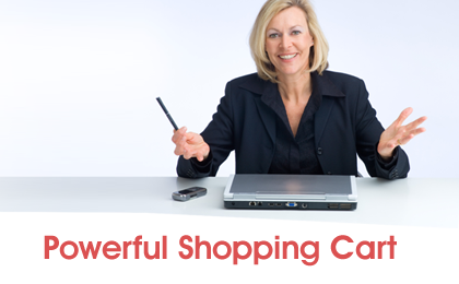 Powerful shopping Cart